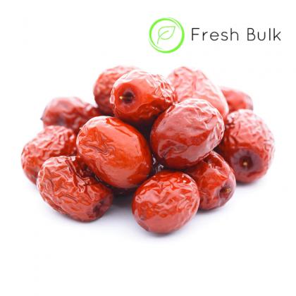 Fresh Bulk Xin Jiang Red Dates (1kg)  新疆无硫红枣