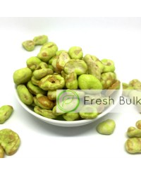 Fresh Bulk Wasabi Coated Broad Bean (500g)