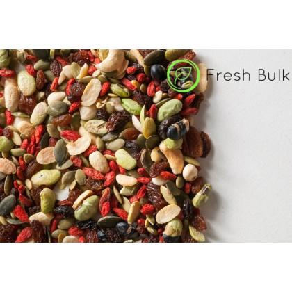 Fresh Bulk Premium Cashew Goji Berry Trail Mix (400g)