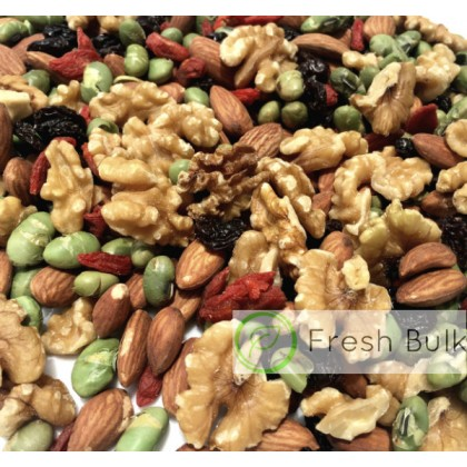 Fresh Bulk Walnut Genius Trail Mix (150g)