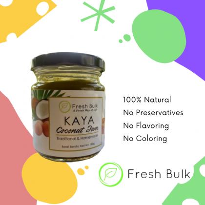 Fresh Bulk 100% Natural Pandan Kaya Coconut Jam / PREORDER