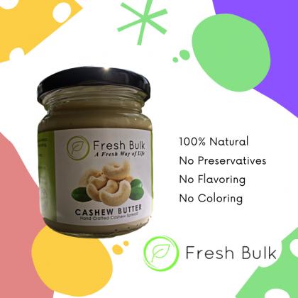 Fresh Bulk 100% Natural Cashew Butter