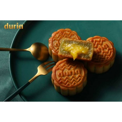Duria Mooncake Pandan Musang King (6 pcs)