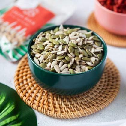Fresh Bulk Unsalted Seeds Mix  / sunflower pumpkin seeds mix 150g