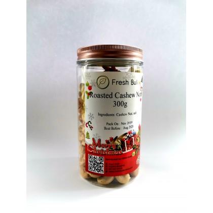 Fresh Bulk Roasted Cashew Nut 300 gram / bottle pack / gift pack