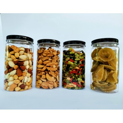 Christmas Abundance Gift Set / cashew nuts / almond / hazel nut / walnut / dried kiwi / pistachios