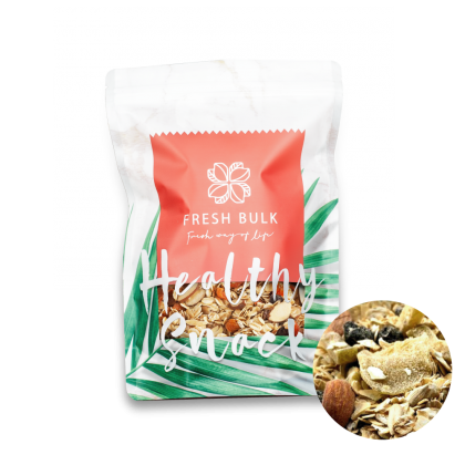 Fresh Bulk Almond Berries Muesli 100g / convenient travel pack / trial pack