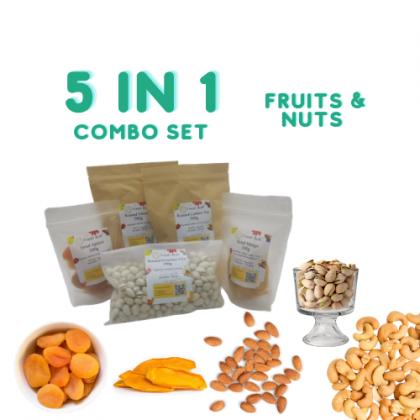 Cashew almond bundle set