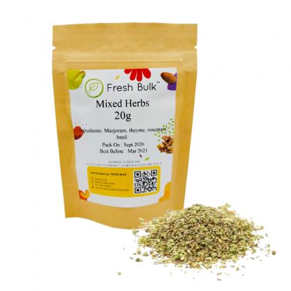 Fresh Bulk Mixed Herbs 20g