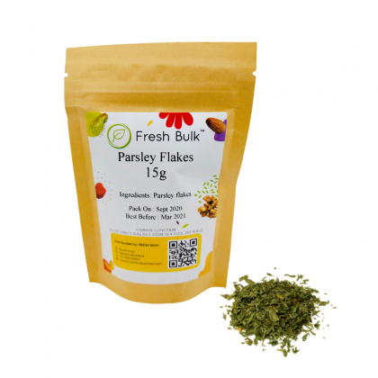 Fresh Bulk Parsley Flakes 15g