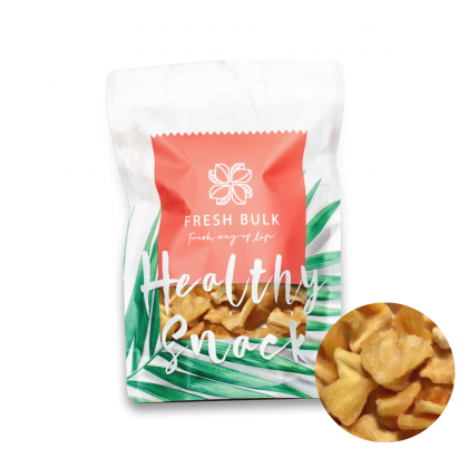 Fresh Bulk Dried Pineapple Cubes 50g / juicy chewy texture