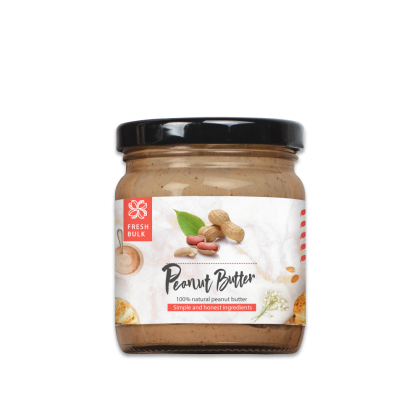 Fresh Bulk Classic Natural Peanut Butter (Smooth and creamy)