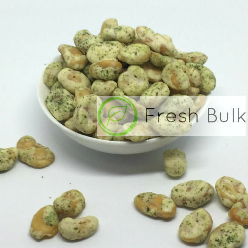 Fresh Bulk Parsley Coated Broad Bean (500g)