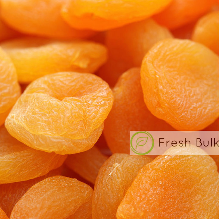 Fresh Bulk Dried Apricot (2 x 500g)