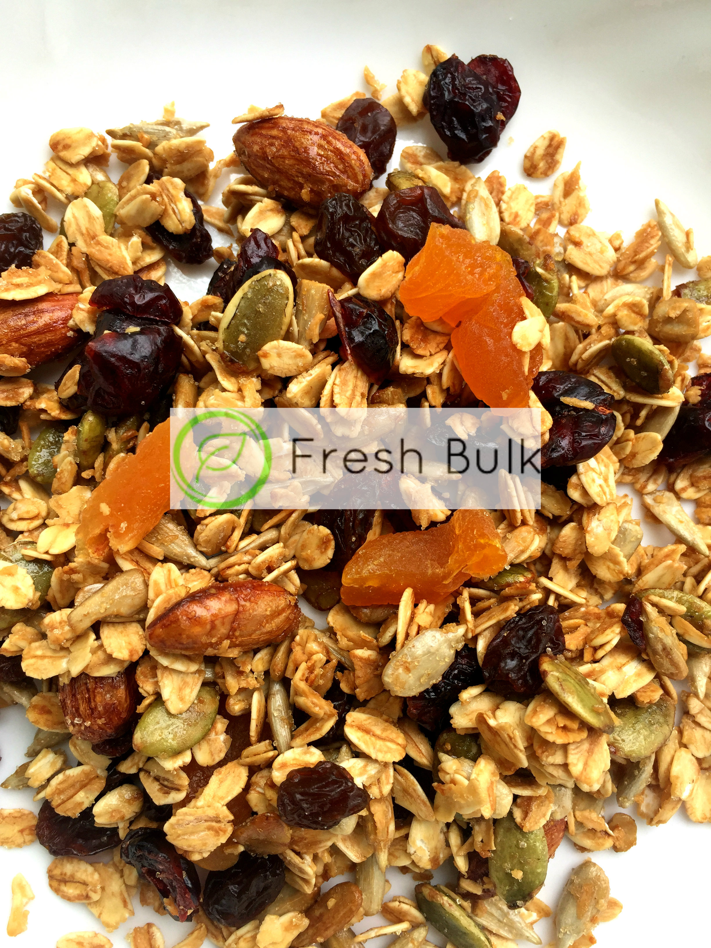 Fresh Bulk Almond Berries Granola 200g