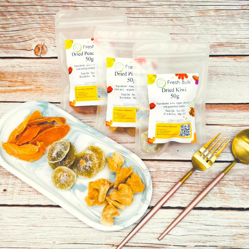Fresh Bulk Fruits Bundle Set / kiwi / peach / pineapple / limited time offer